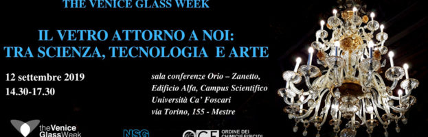 THE GLASS WEEK – IL VETRO ATTORNO A NOI: TRA SCIENZA, TECNOLOGIA E ARTE
